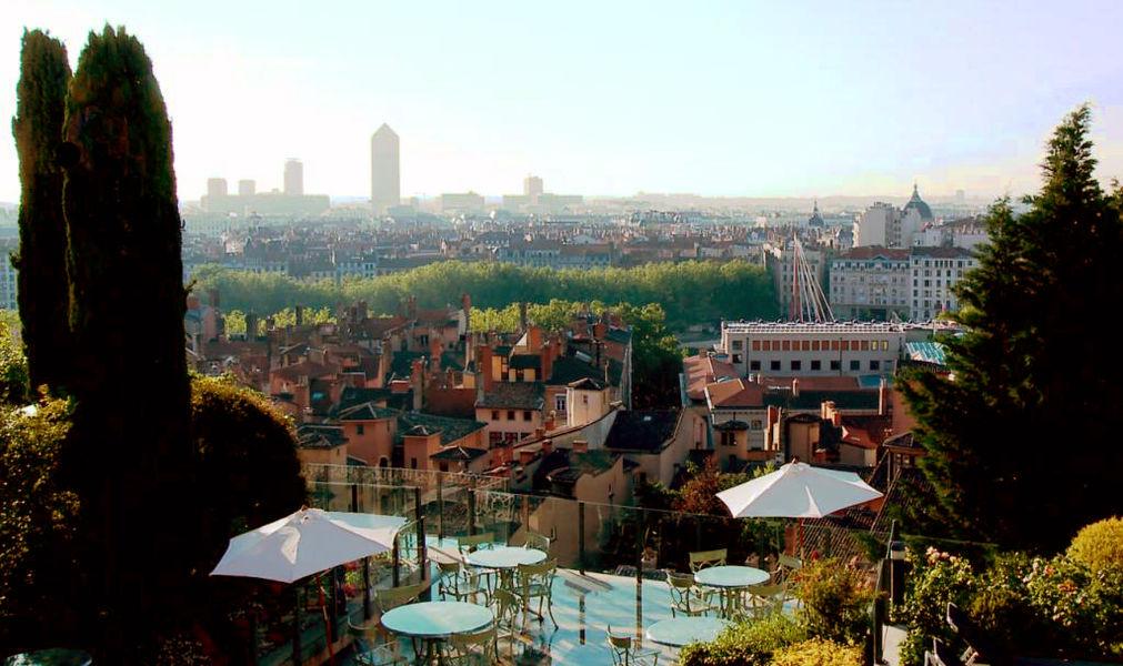 Villa Florentine ***** Vue sur Lyon