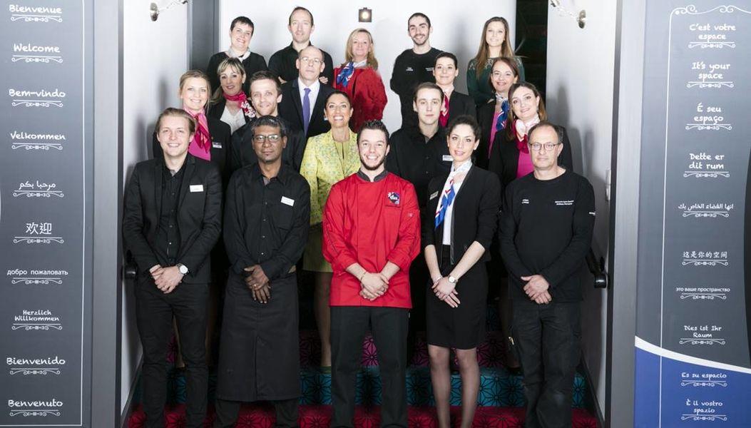 Mercure Lyon Centre Château Perrache **** Une équipe à votre service