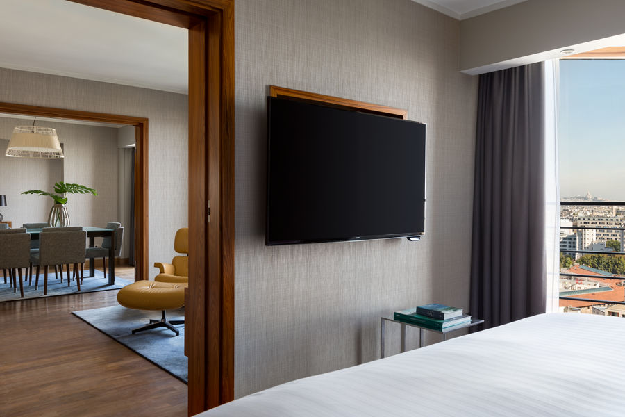 Paris Marriott Rive Gauche **** Chambre