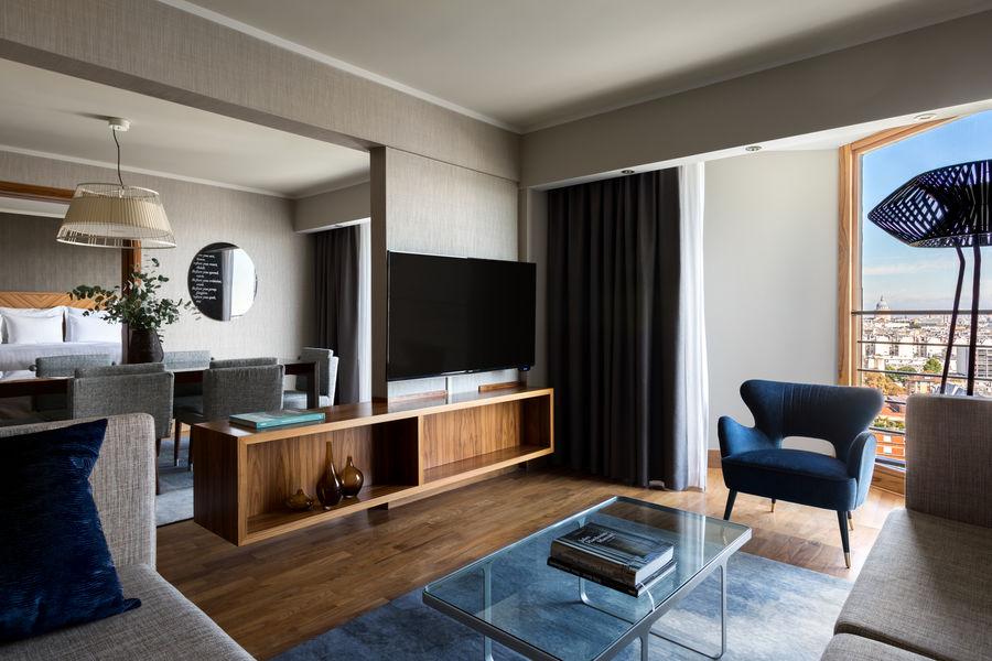 Paris Marriott Rive Gauche **** Salon de la suite