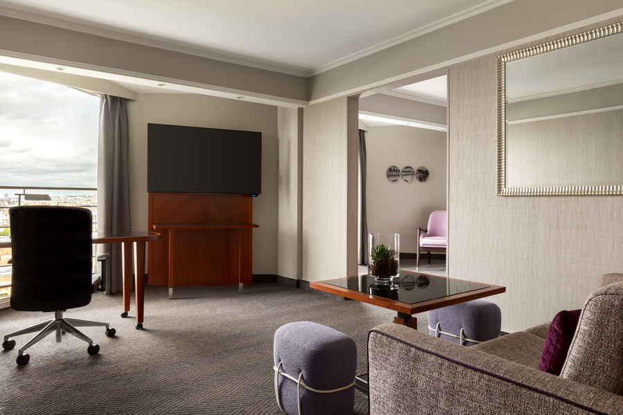 Paris Marriott Rive Gauche **** Junior Suite
