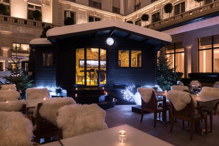 Hôtel Park Hyatt Paris Vendôme ***** Chalet d'Hiver sur la terrasse