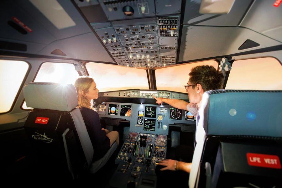 AviaSim Caen Simulateur de Vol
