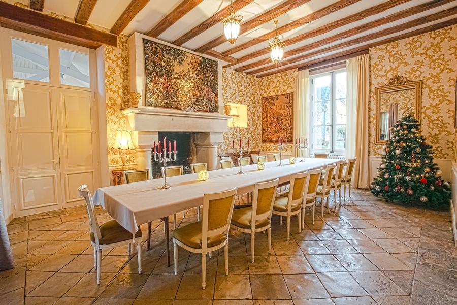 Chateau de La Borderie  Salle à manger