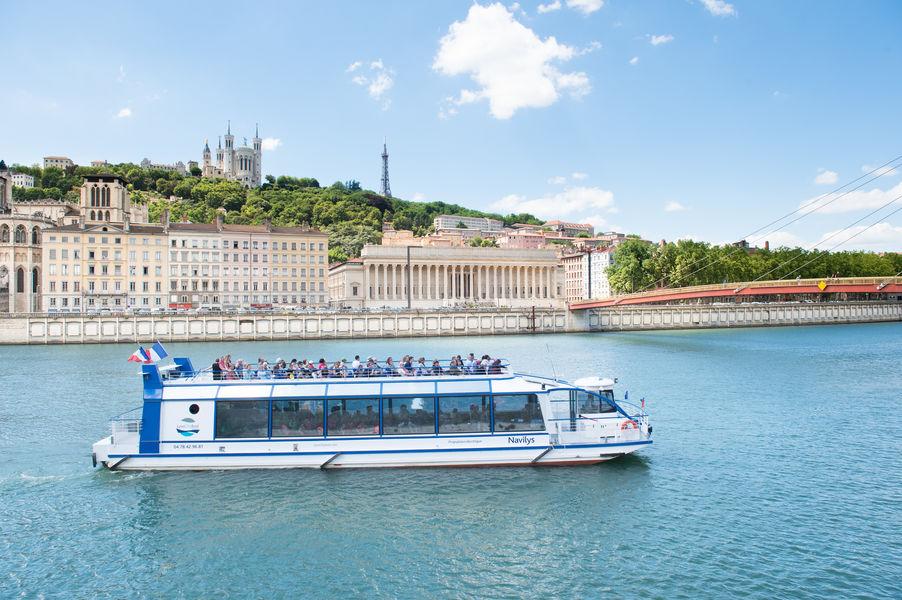 Lyon City Boat - Croisières privatives Bateau à propulsion électrique Navilys