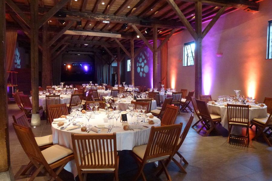 Château de Pizay **** Salle Cuvage : diner de gala