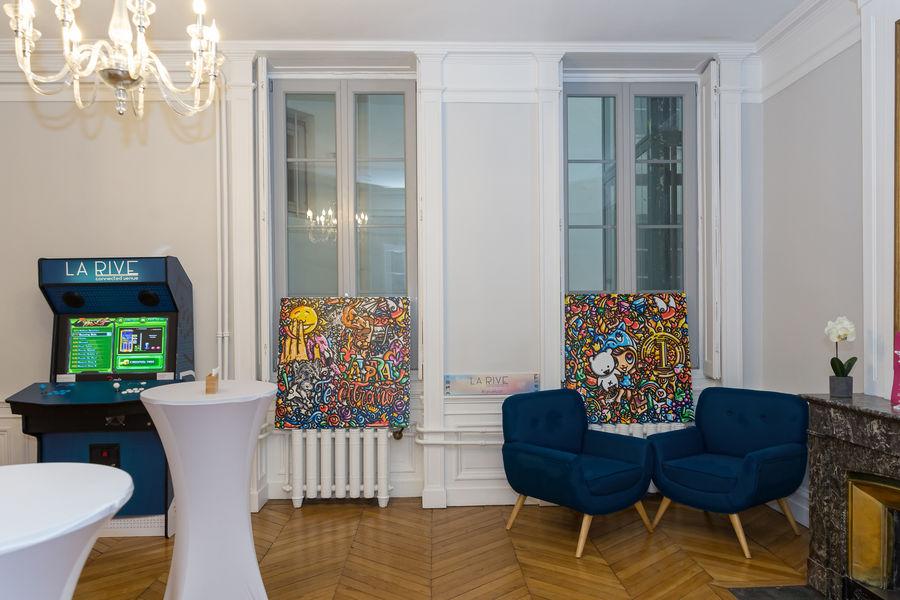 La Rive Lyon Exposition temporaire - Bubble Room