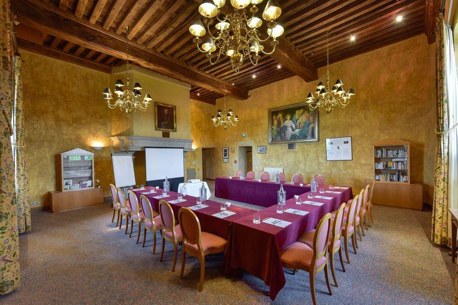 Hôtel Golf Château de Chailly **** Bibliothèque