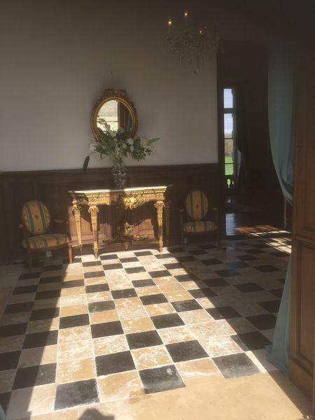 Château d'Auteuil  Le Hall d'entrée du Château d'Auteuil