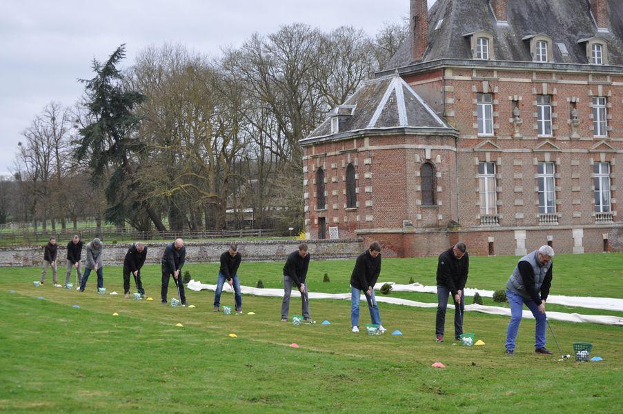 Château d'Auteuil  initiation au golf dans le Parc du Château