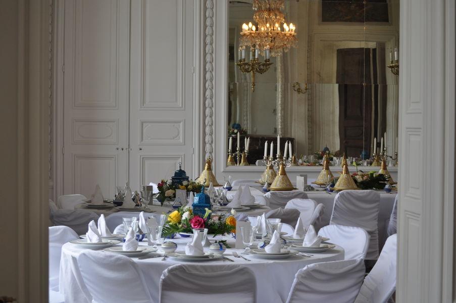 Château d'Auteuil  Dîner oriental dans le Grand Salon