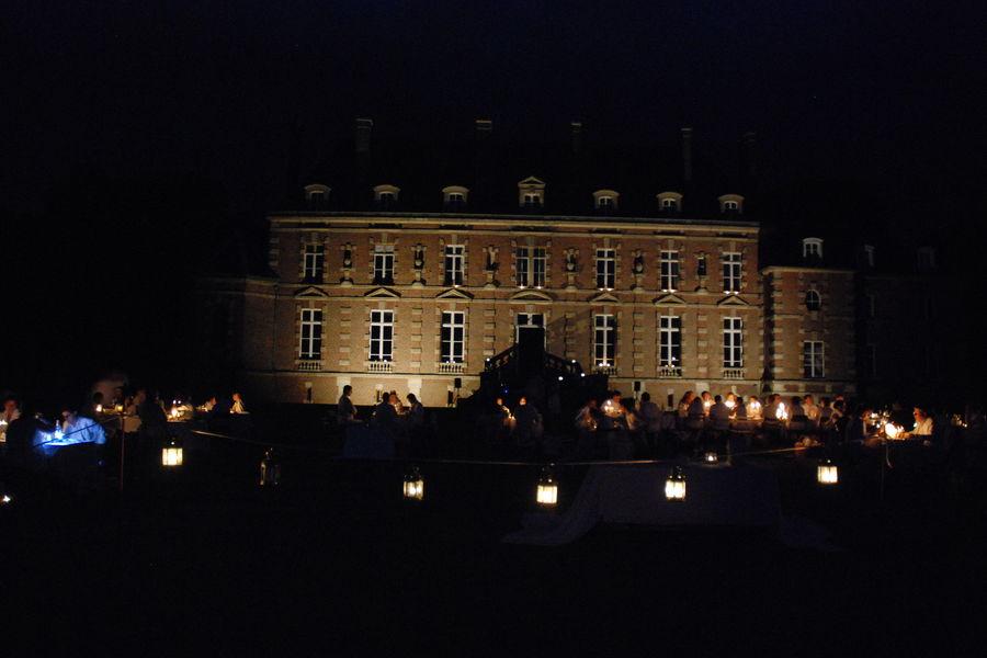 Château d'Auteuil  Parc de 3 hectares, soire festive