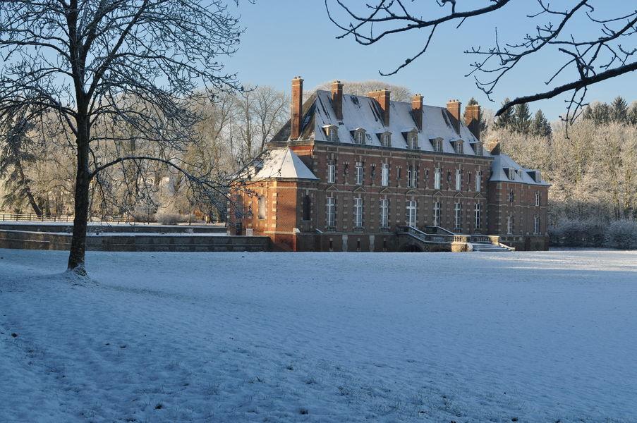 Château d'Auteuil  Château d'Auteuil , sous la neige