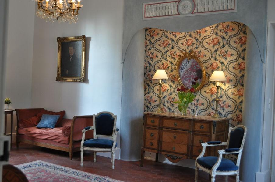 Château d'Auteuil  Salon Bovary, ambiance d'autrefois