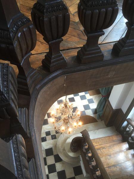 Château d'Auteuil  Hall d'Entrée, l'escalier d'honneur