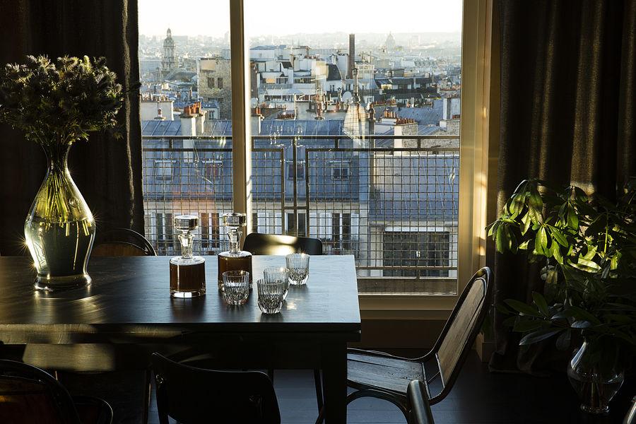 Hôtel Le Chat Noir **** Vue