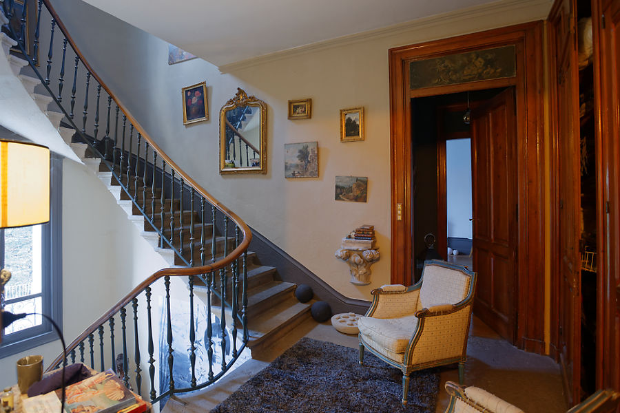 Manoir de Collonges Escalier