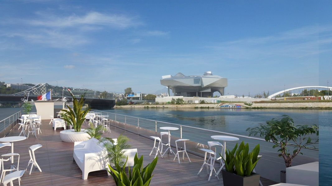 Lyon City Boat - Bateau Restaurant Hermès & Les Célestins  Terrasse Les Célestins