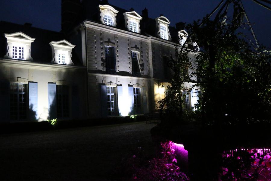 Château d'Andé Le Château de Nuit