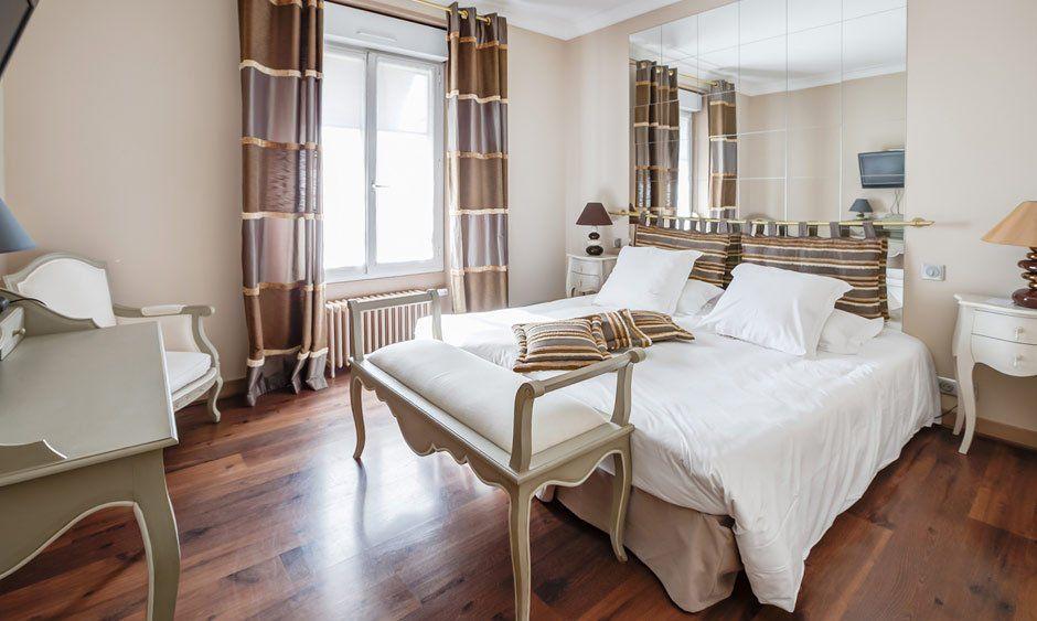 Hôtellerie La Renaissance Chambre