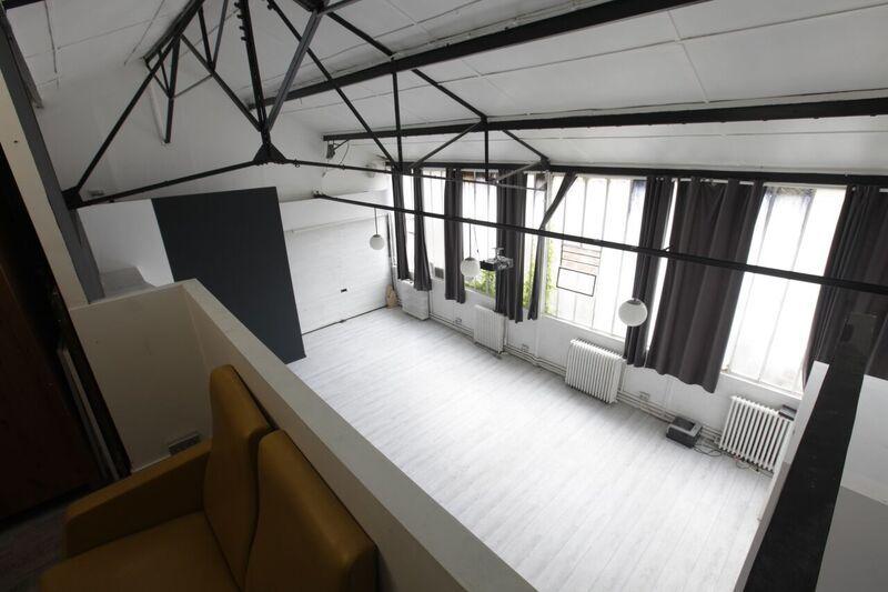 Loft Montreuil Salle 2 vu du haut