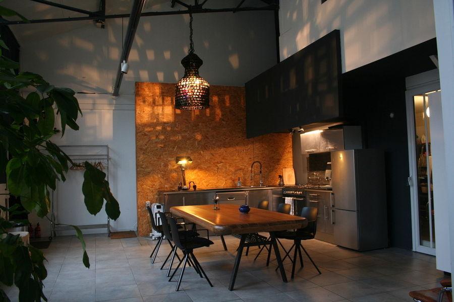 Loft Montreuil Espace cuisine entièrement équipée