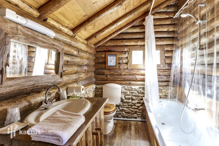Domaine de la Butte Ronde Salle de bain Chalet