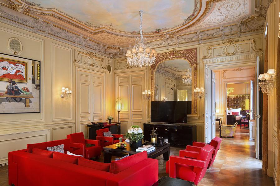 Buddha-bar Hôtel Paris ***** Grande Suite Historique  -Salon de réception