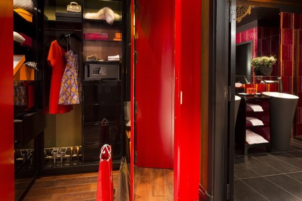 Buddha-bar Hôtel Paris ***** Dressing chambre Prestige