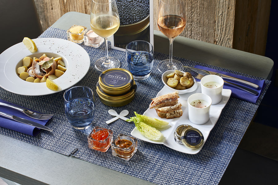 Le Comptoir du Caviar Déjeuner