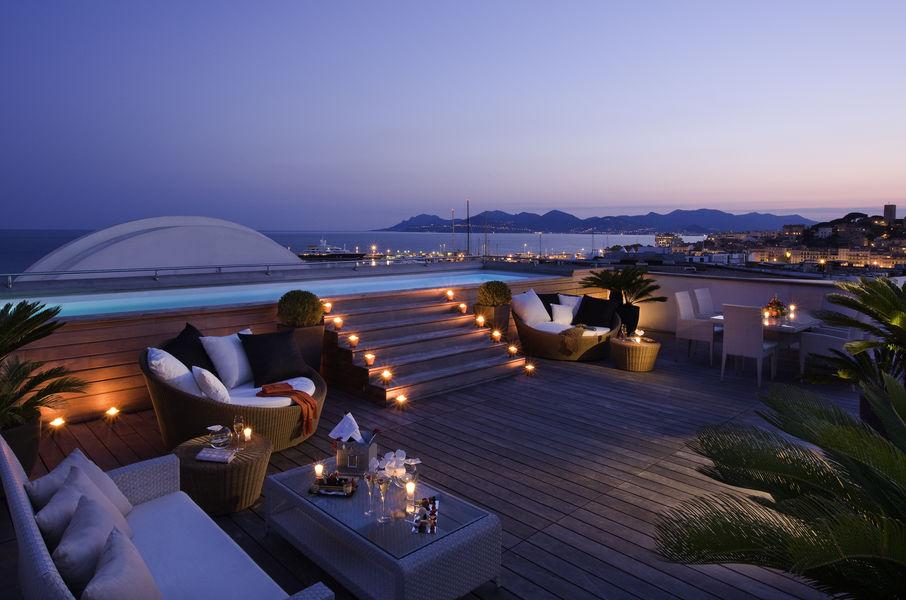 Hôtel Barrière Le Majestic Cannes Piscine