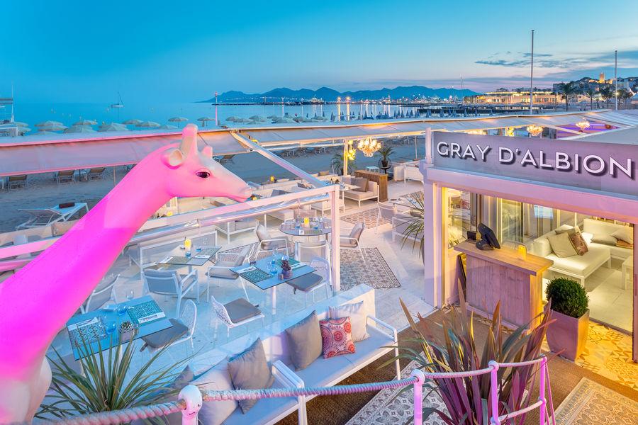 Hôtel Barrière Le Gray d'Albion Cannes  Hôtel Barrière Le Gray d'Albion Cannes