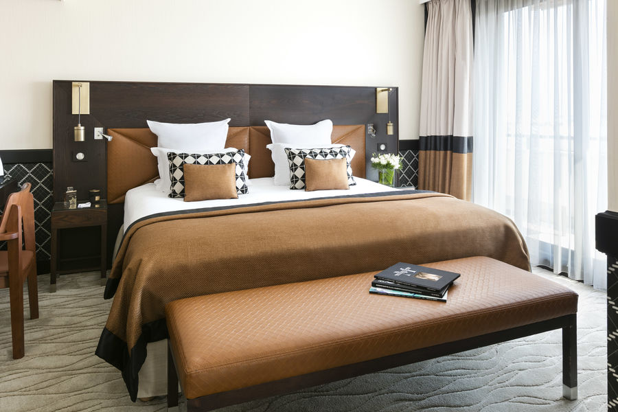 Hôtel Barrière Le Gray d'Albion Cannes  Chambre