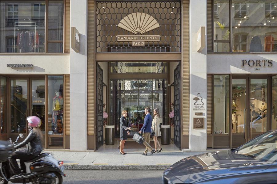 Hôtel Mandarin Oriental ***** Entrée Mandarin Oriental Paris