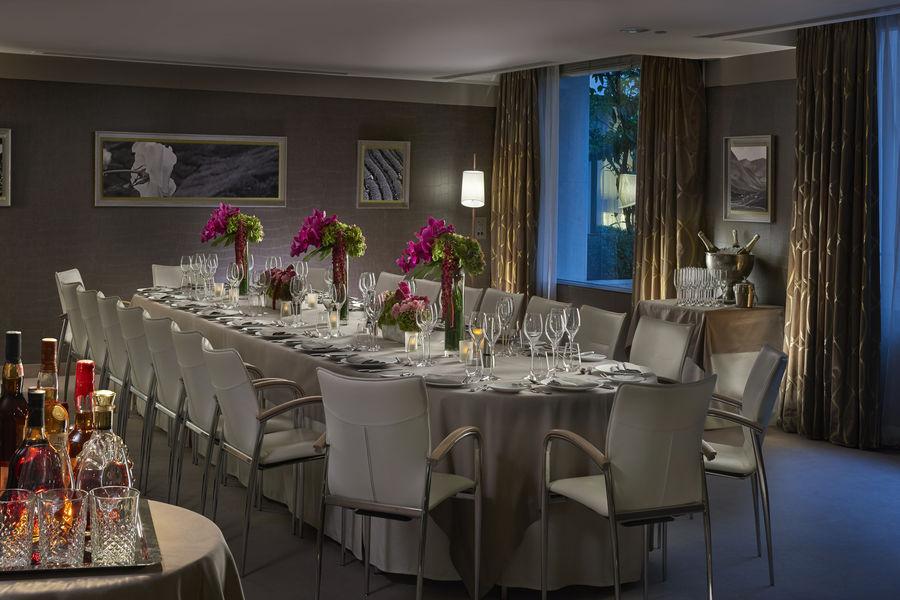 Hôtel Mandarin Oriental ***** Repas en Salon privé