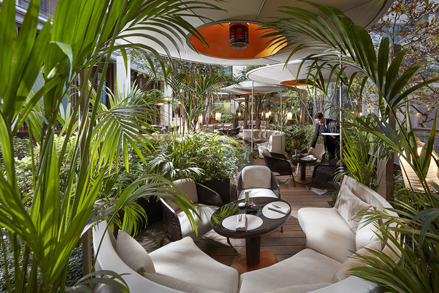 Hôtel Mandarin Oriental ***** Bar 8 - Jardin