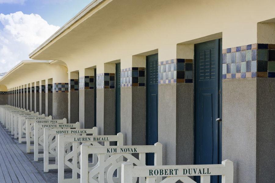 Le Royal Deauville ***** Cabines sur la plage