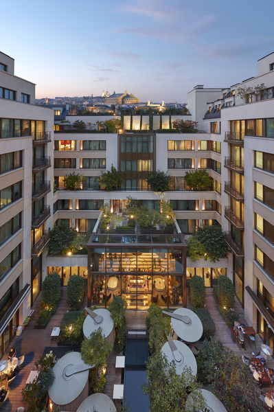 Hôtel Mandarin Oriental ***** Jardin - Vue plongeante via Terrasse Suite