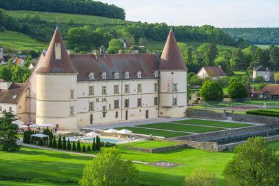 vue exterieure Hôtel Golf Chateau de Chailly