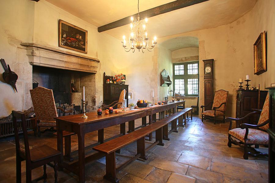 Château de Saint-Martory La salle des gardes