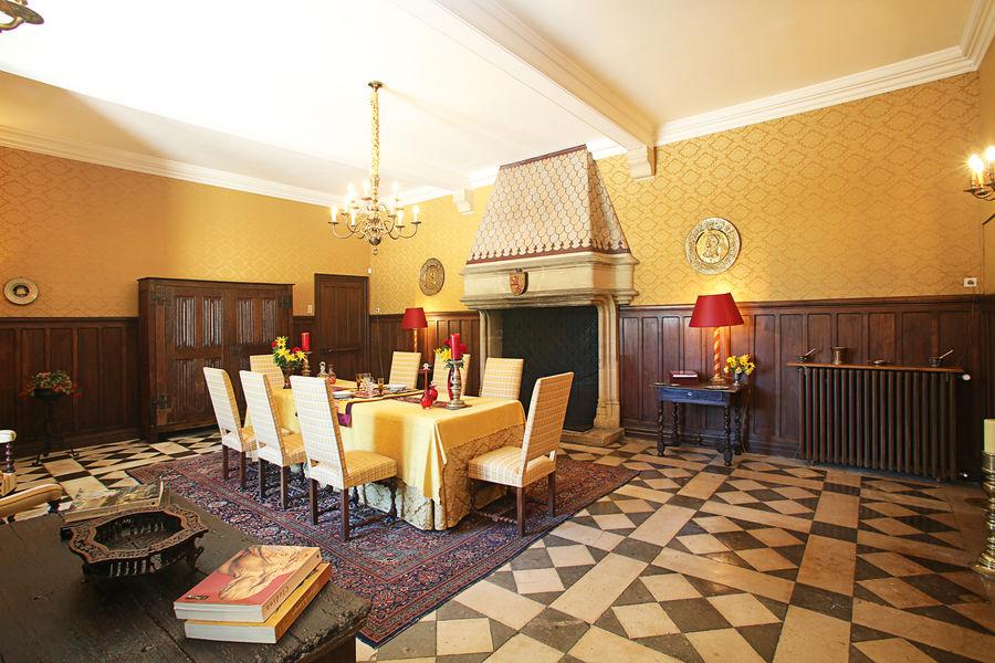 Château de Saint-Martory Le Salon Jaune