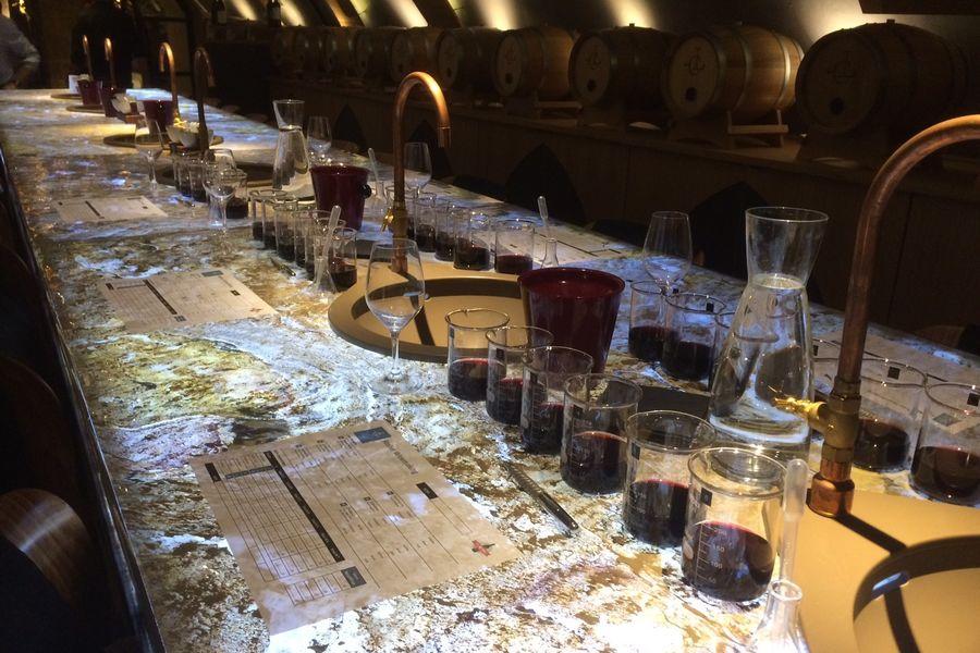 Les Caves du Louvre Fin prêts pour l'atelier d'assemblage
