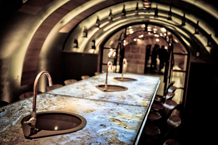 Les Caves du Louvre La grande salle d'assemblage