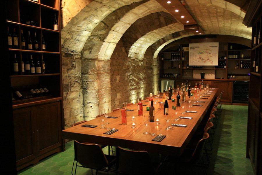 O Chateau Superbe cave historique
