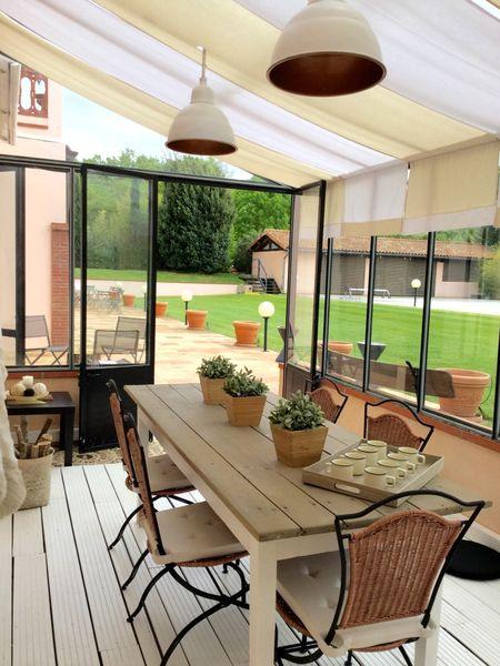 Domaine Beausoleil Salon côté jardin