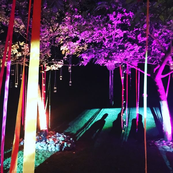 Domaine Beausoleil Garden Party by night