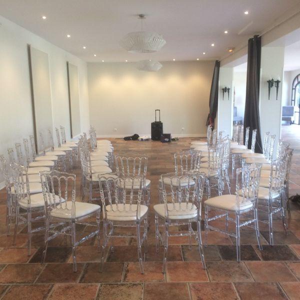Domaine Beausoleil En arc de cercle pour des réunions plus intimes