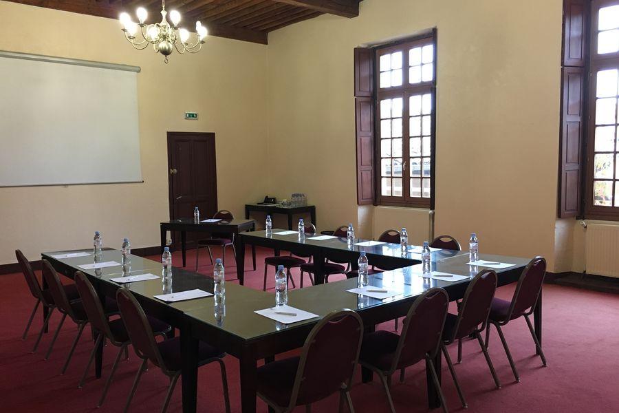 Le Domaine Du Gouverneur **** salle de seminaire Augusta