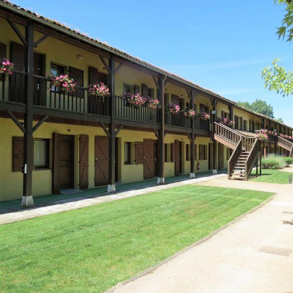Le Domaine Du Gouverneur **** vue sur le pavillon (chambres)