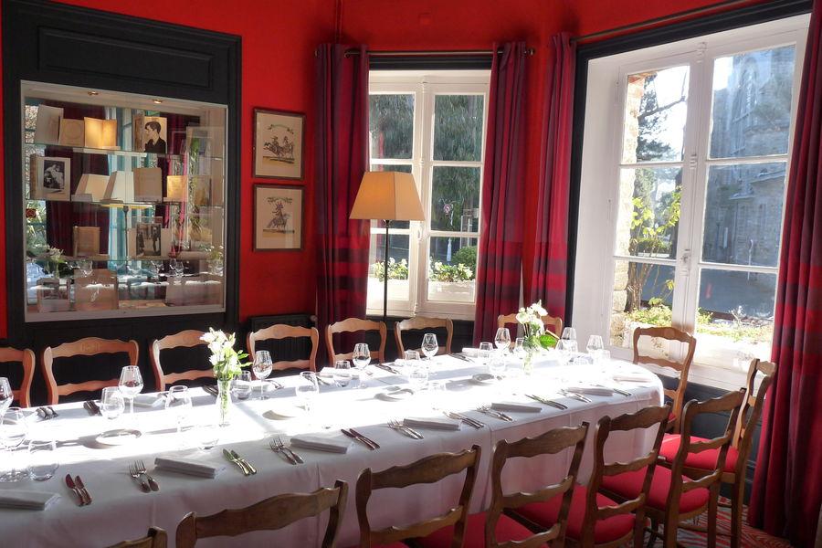 Le Saint-Christophe *** Banquet dans l'Alcôve du restaurant